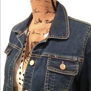 Kate Spade Lightweight Denim Jean Jacket Medium